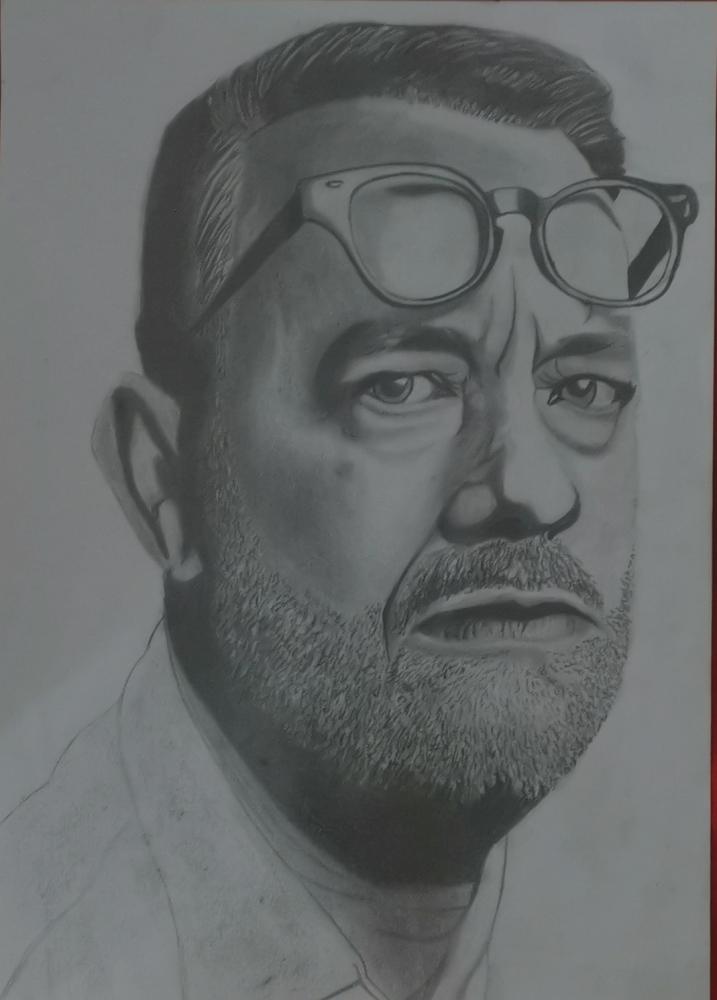Tom Hanks par Fakdessin